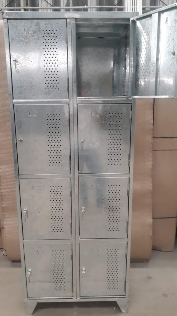 Armário vestiário galvanizado